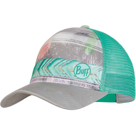 Buff Trucker Cap Women Biome Aqua